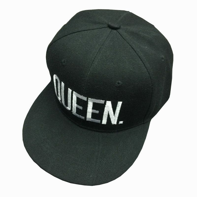 KING QUEEN Snapback Hat Acrylic Couple Baseball Cap Men Women Lovers Gifts  For Girl Boy Friends Hip Hip Cap Last Kings Casquette f806eba13036