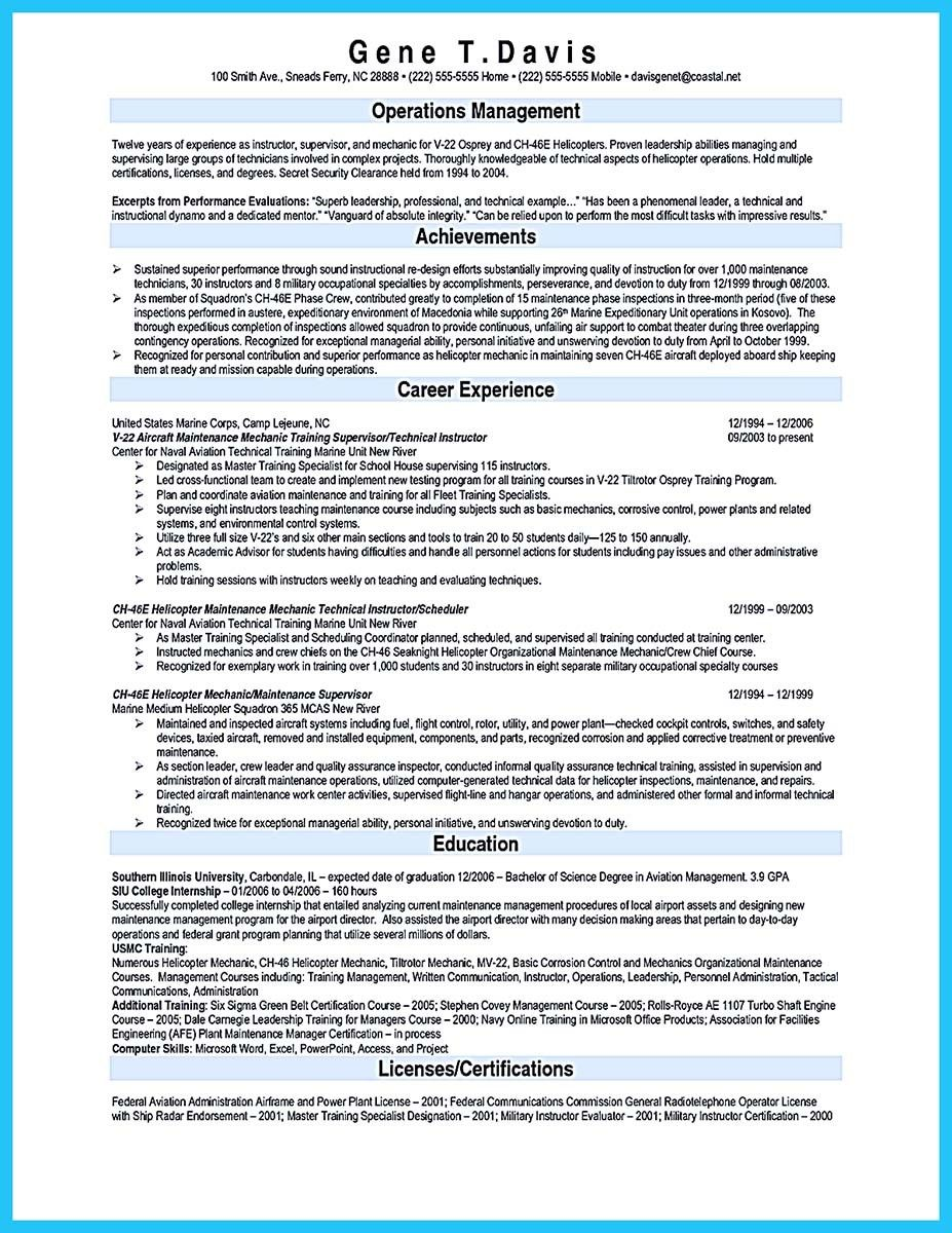 cool Writing Your Great Automotive Technician Resume, Check more at ...