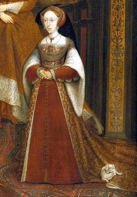 Photo of Jane Seymour, detail from Dynastic Portrait (High Quality)