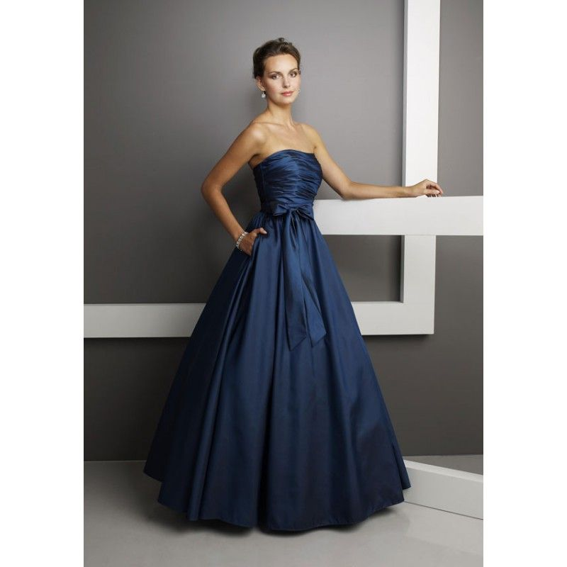 Navy blue gowns images galleries with for Navy dresses for weddings