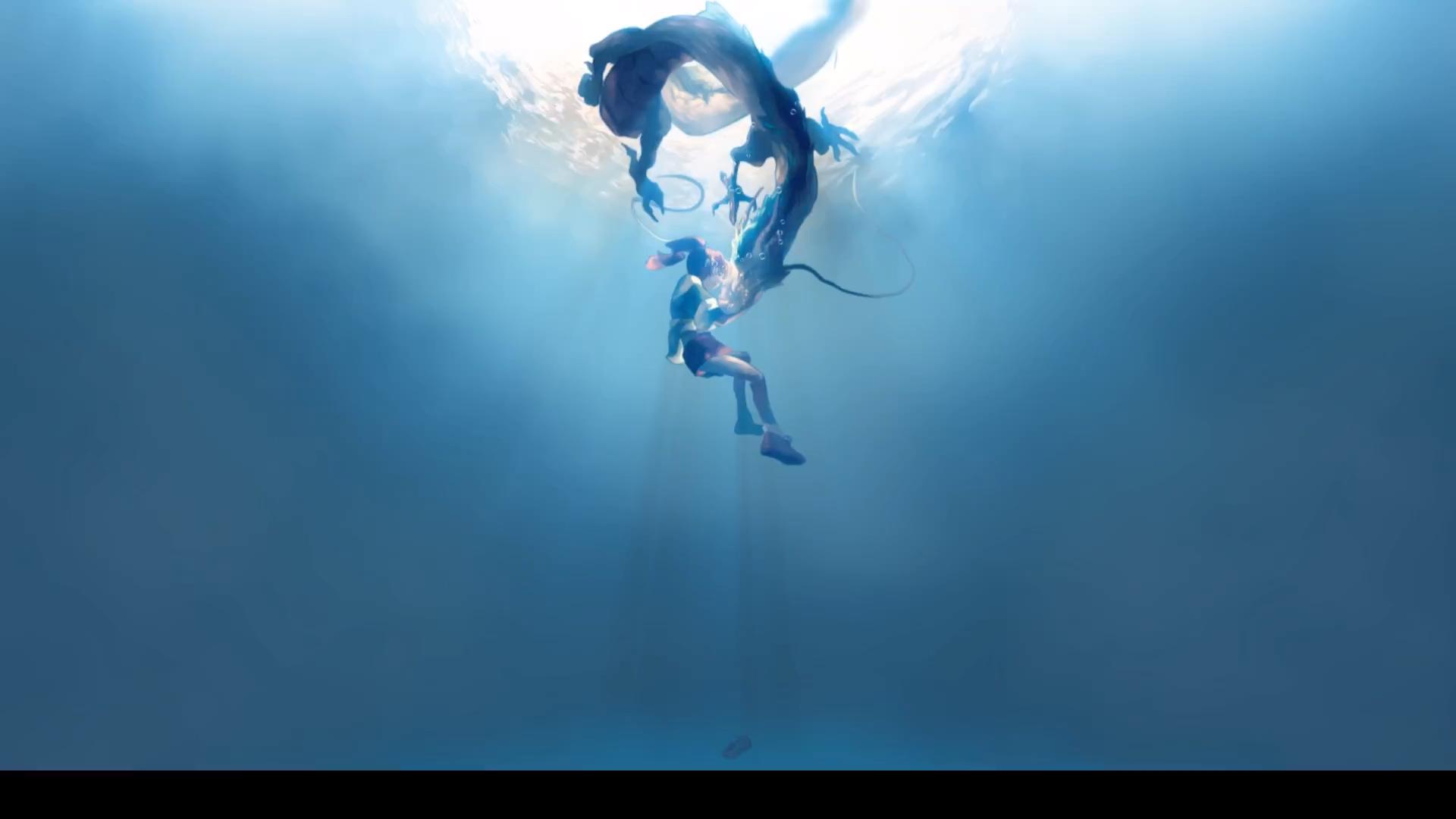 ChihiroxHaku Anime Wallpaper