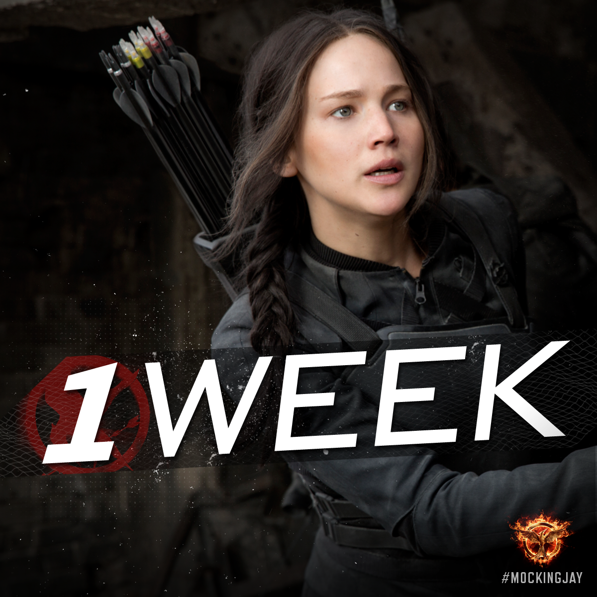 In ONE WEEK... the Mockingjay lives! - Reserve your #MockingjayTickets at www.MockingjayTickets.com!