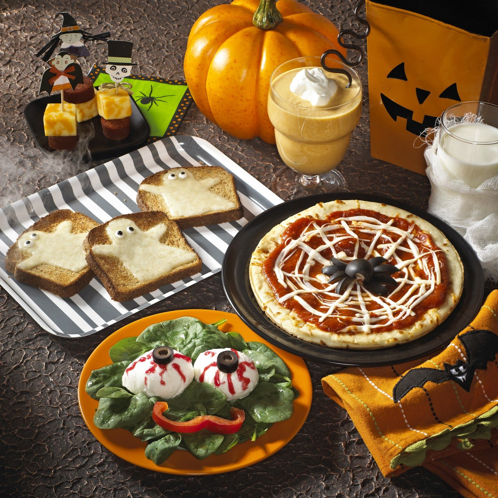 Are you looking for Halloween recipes that are not load with sugar ...