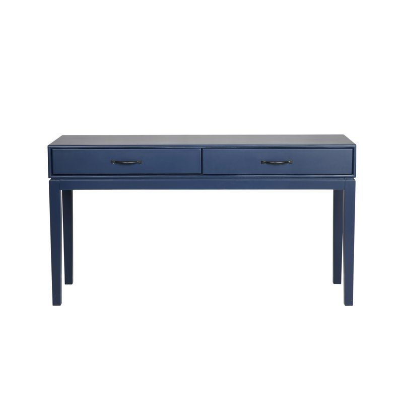Fall Home Decorating Pairing Navy Blue With Black Blue Console