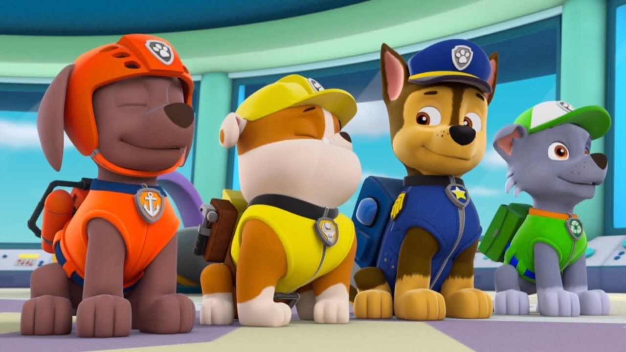 paw patrol pups take flight game