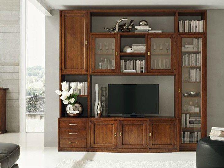 Damigella mueble modular de pared by devina nais pared muebles muebles modulares y modulares - Parete attrezzata classica prezzi ...