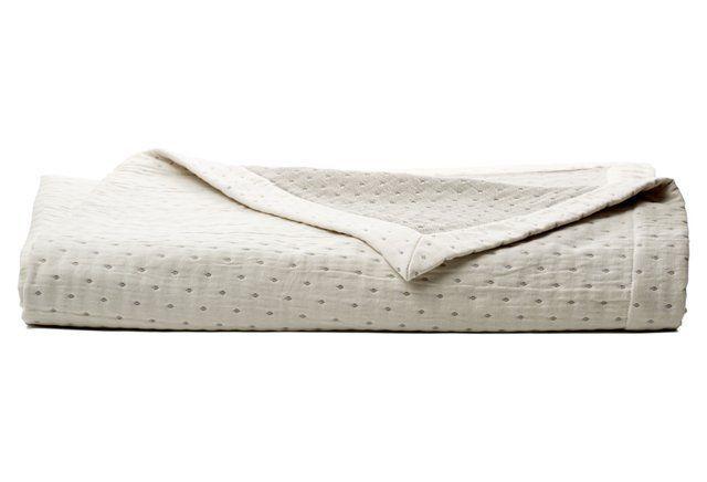 Pickdot Coverlet | Beautiful Bedrooms | Pinterest