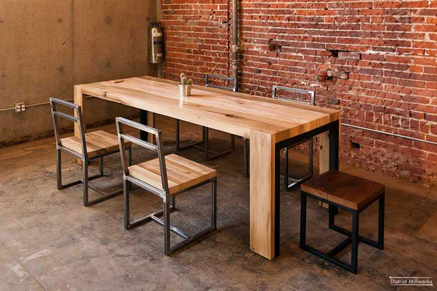 Recycled wood tables | rustico | Pinterest