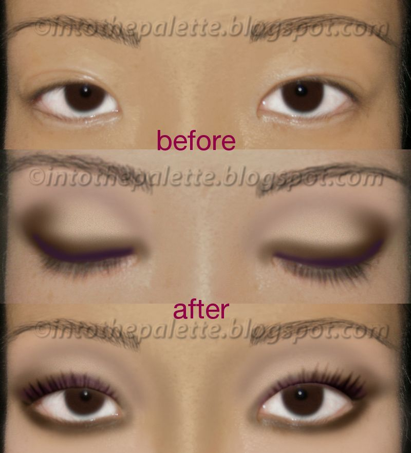 Asian Monolid Tutorial How To Make Them Look Bigger Into The Palette Good Job Olivia Asian Eyes Makeup Suggestions Eyeshadow Tutorial