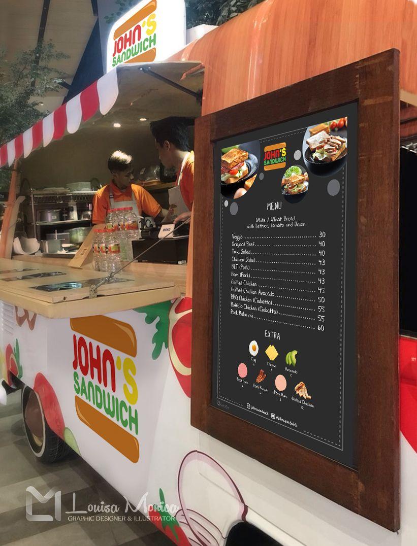 John Sandwich Food Truck Pakuwon Mall Surabaya By Louisamonica