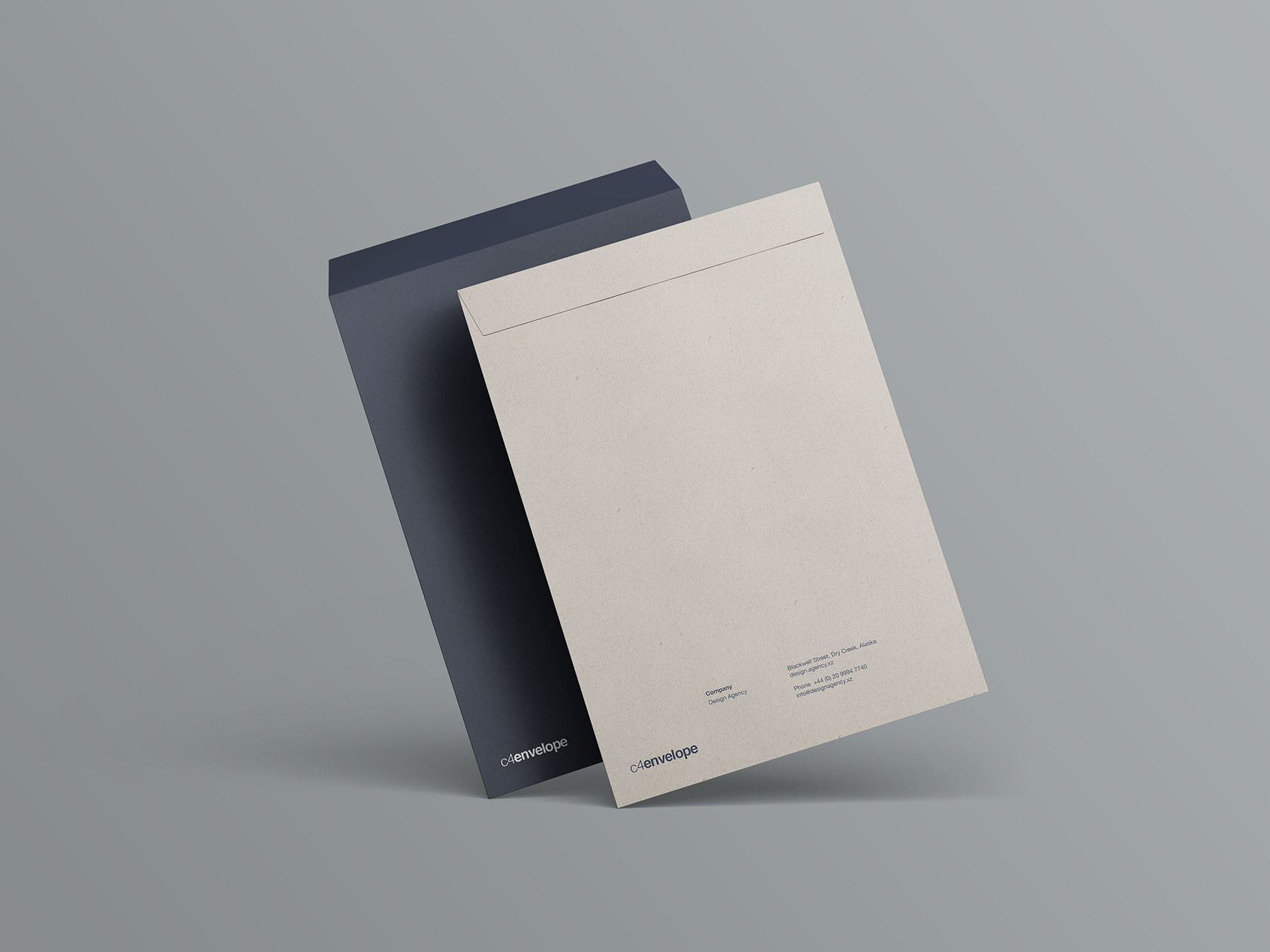 Simple Psd C4 Envelope Mockup Mockup Envelope