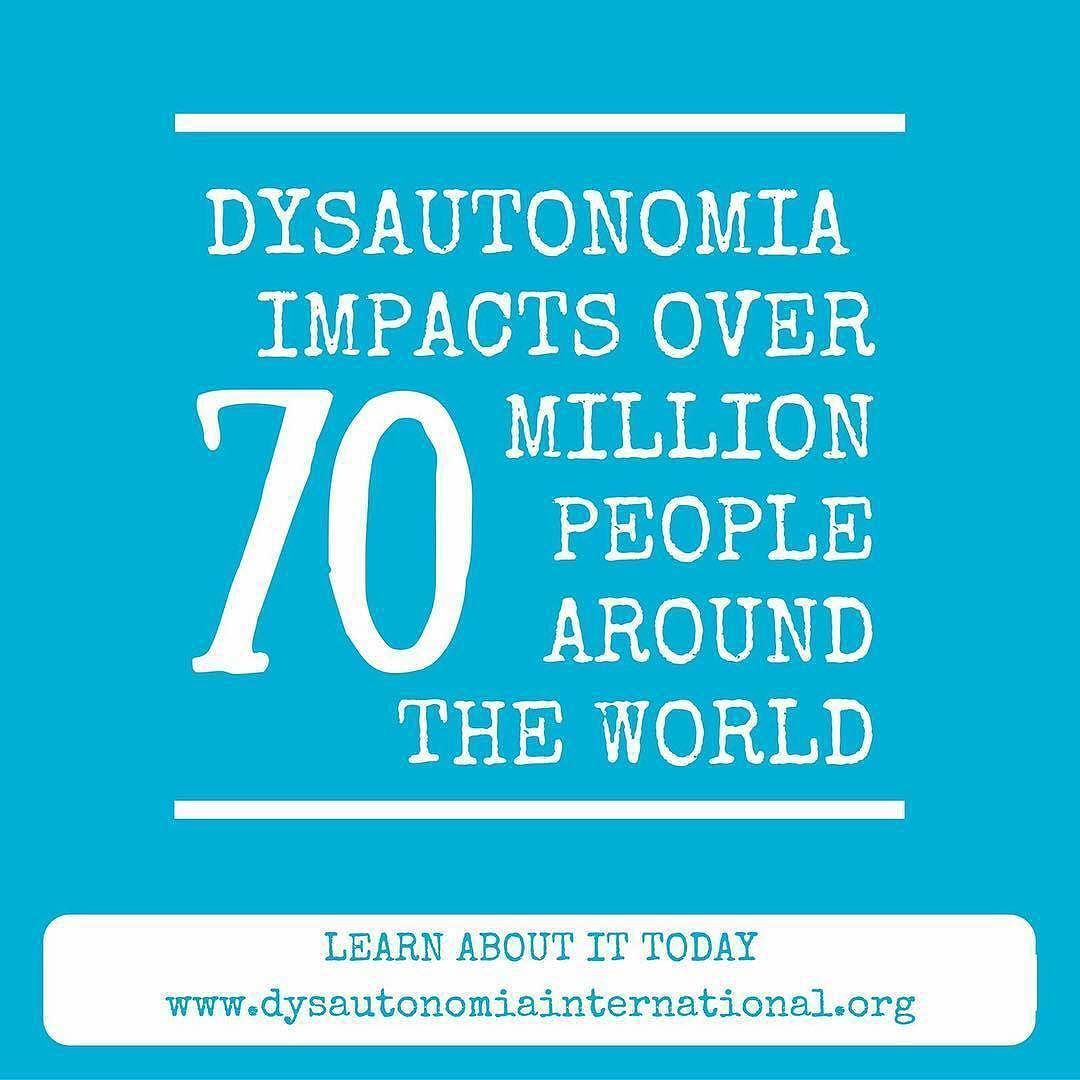 Can You Get Disability For Fibromyalgia In Illinois Repost October Is Dysautonomia Awareness Month It Is Shocking That 70million People Are Impacted By Dysautonomi Dysautonomia Awareness Dysautonomia The Cure