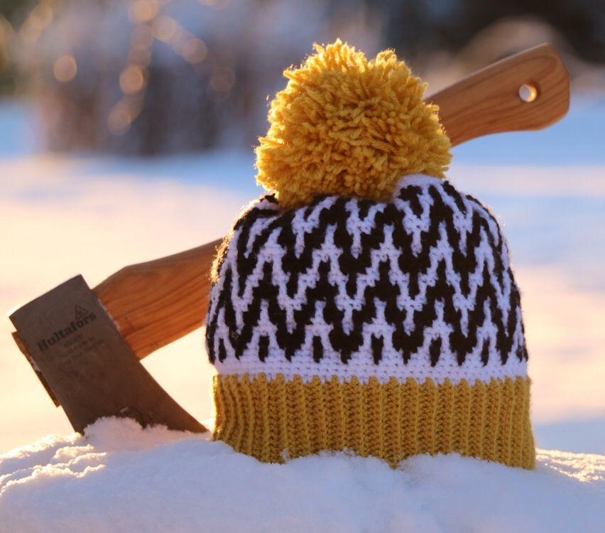 free hat crochet pattern the up earlier hat double brim version martin - Hakelmutzen Muster