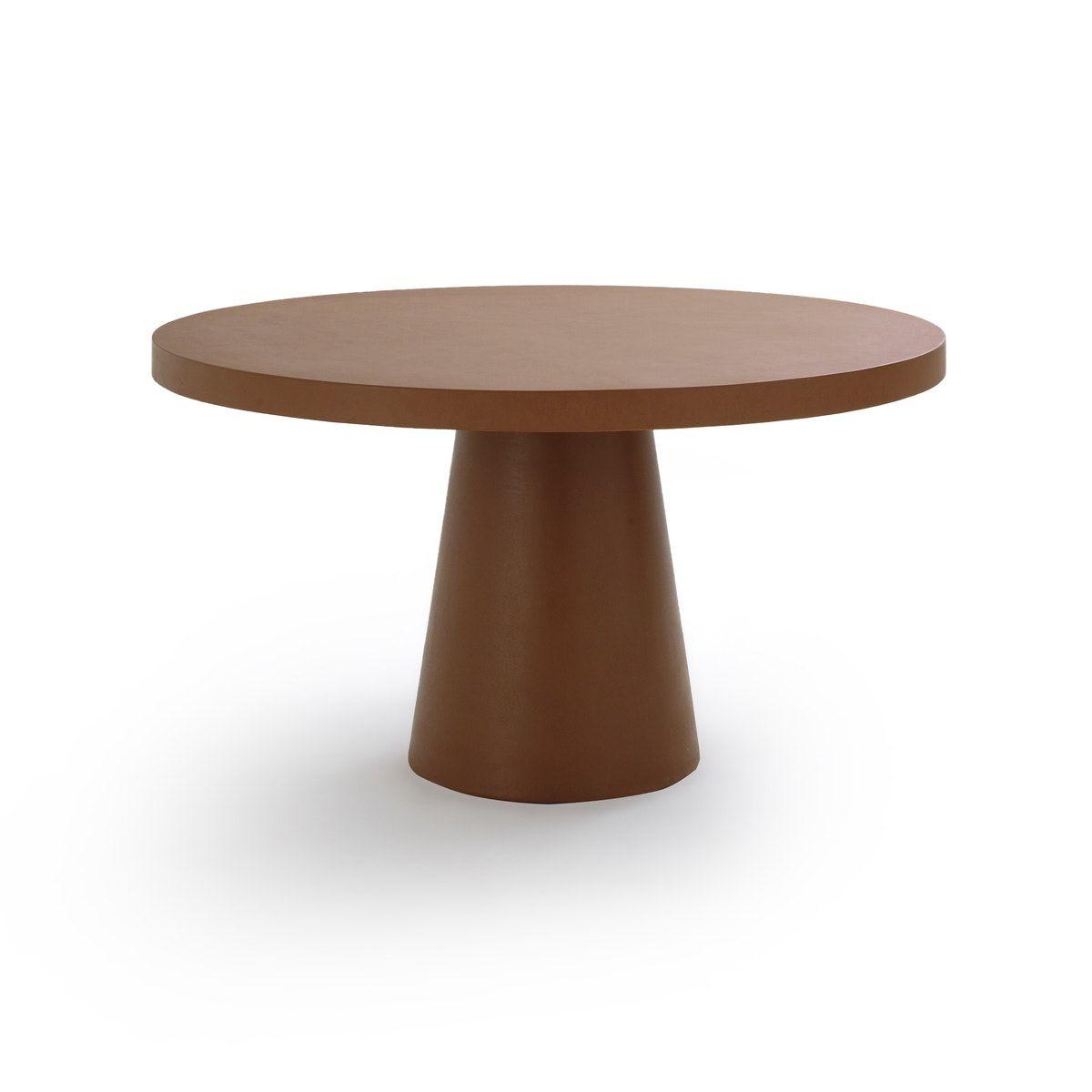 Am Pm Runder Gartentisch Argine In 2021 Gartentisch Tischplatte Rund Beistelltische