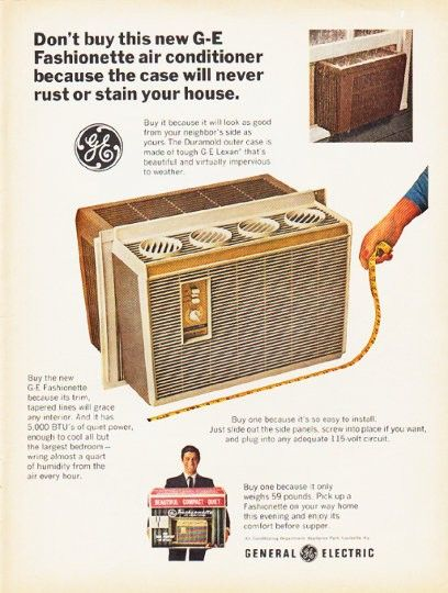 1966 General Electric Air Conditioner Ad
