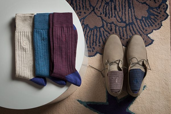 Selected materials come together, with high-quality wool and silk. #SheepAndChic
