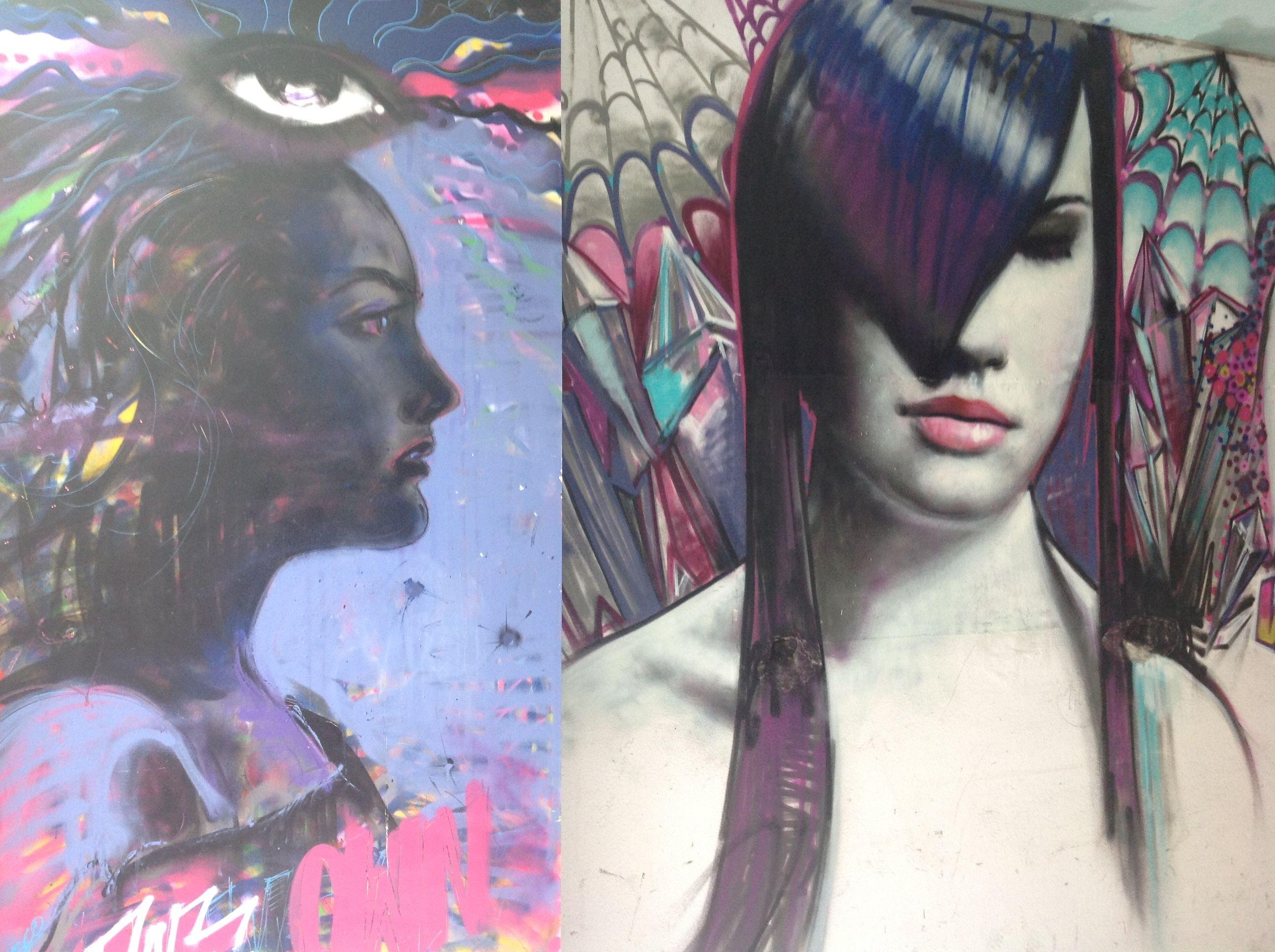 Graffiti Rosco Woman 2016 aachen