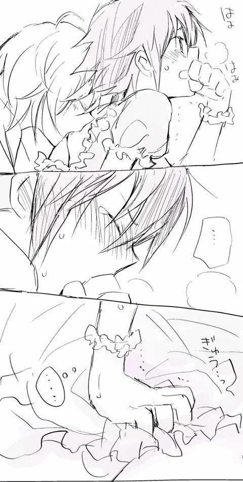 NGH!~ Owari no Seraph    #SeraphOfTheEnd #Yaoi #MikaYuu