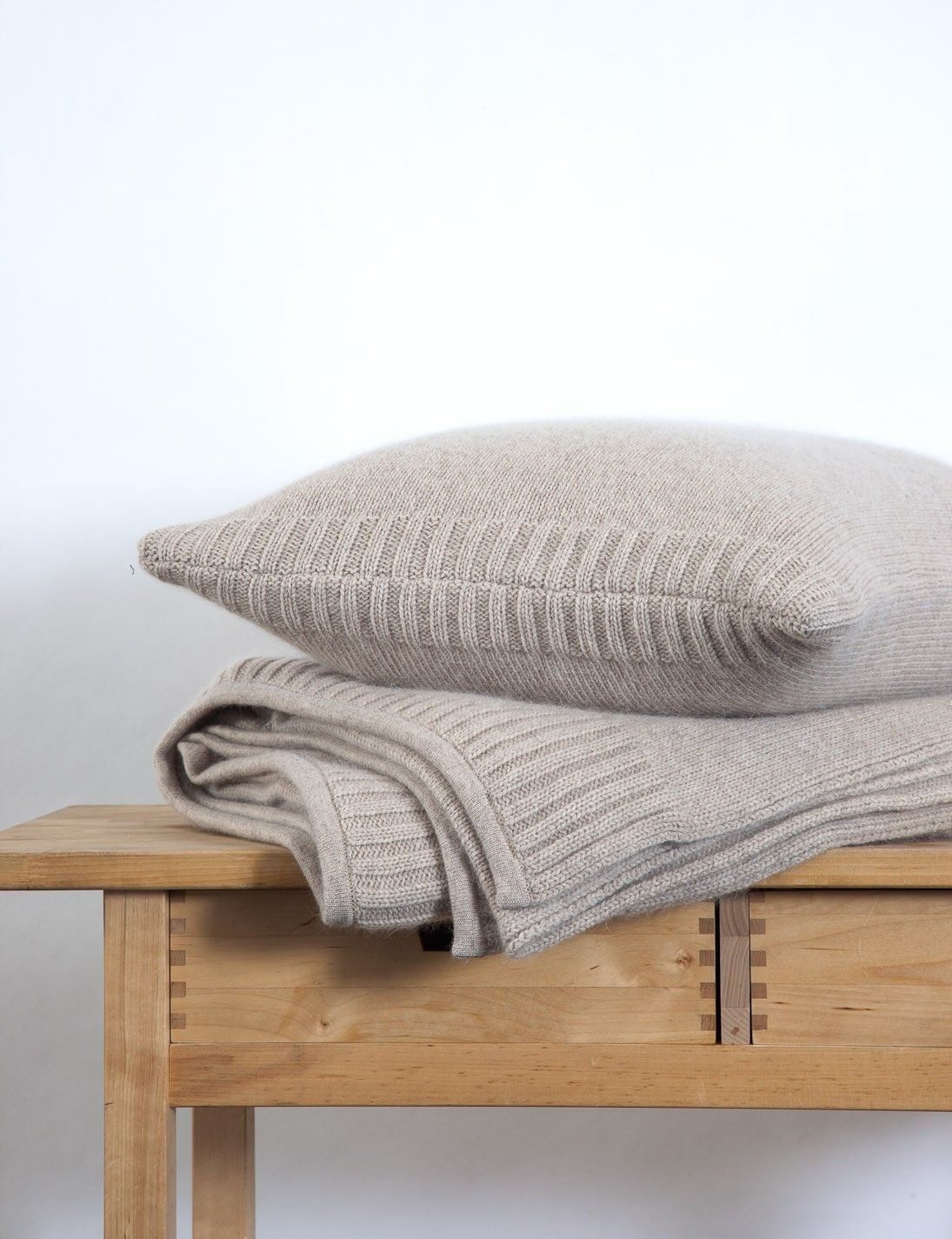 Abode Living - Blankets and Throws - Madden Knitted Merino Angora Blanket and Throw - Abode Living