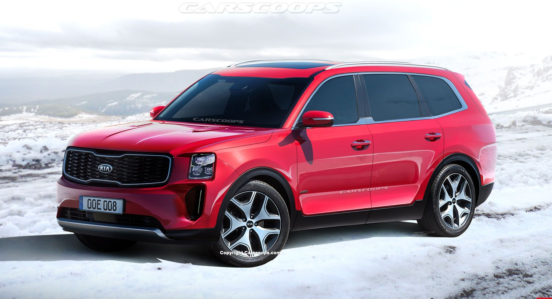 2020 Kia Telluride Everything We Know On The Full Size Suv Carscoops Full Size Suv Kia Suv
