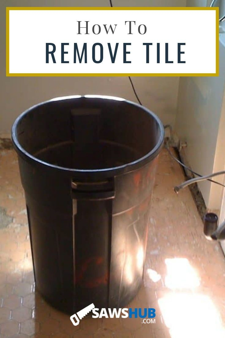 How to quickly remove and replace old tile tile projects