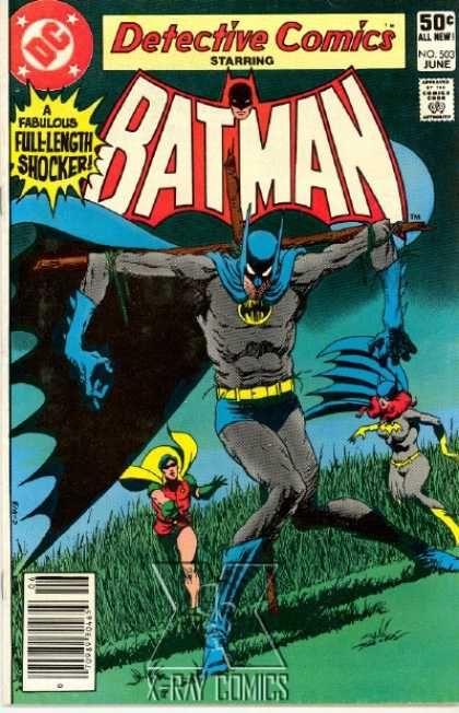 Robin - Batgirl - Batman - A Fabulous Full-length Shocker - No 503 June - Jim Starlin