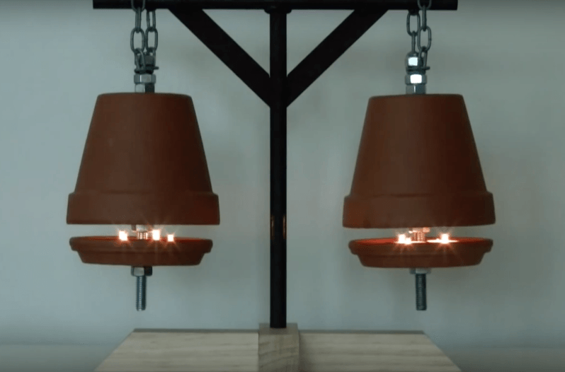 This Flower Pot Heater Will Keep You Warm And Save You