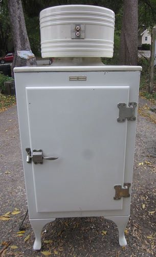 Antique Monitor Top Refrigerator Ge Ck 2 C16 General Electric Works Great Ebay Love This An Icebox I Top Refrigerator Vintage Ice Box Ge Refrigerator