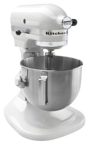KitchenAid K4SSWH 4 12 Quart Bowl Lift Stand Mixer White ** Amazon ...