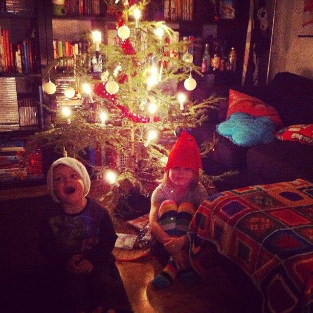 Joulupukin odotusta