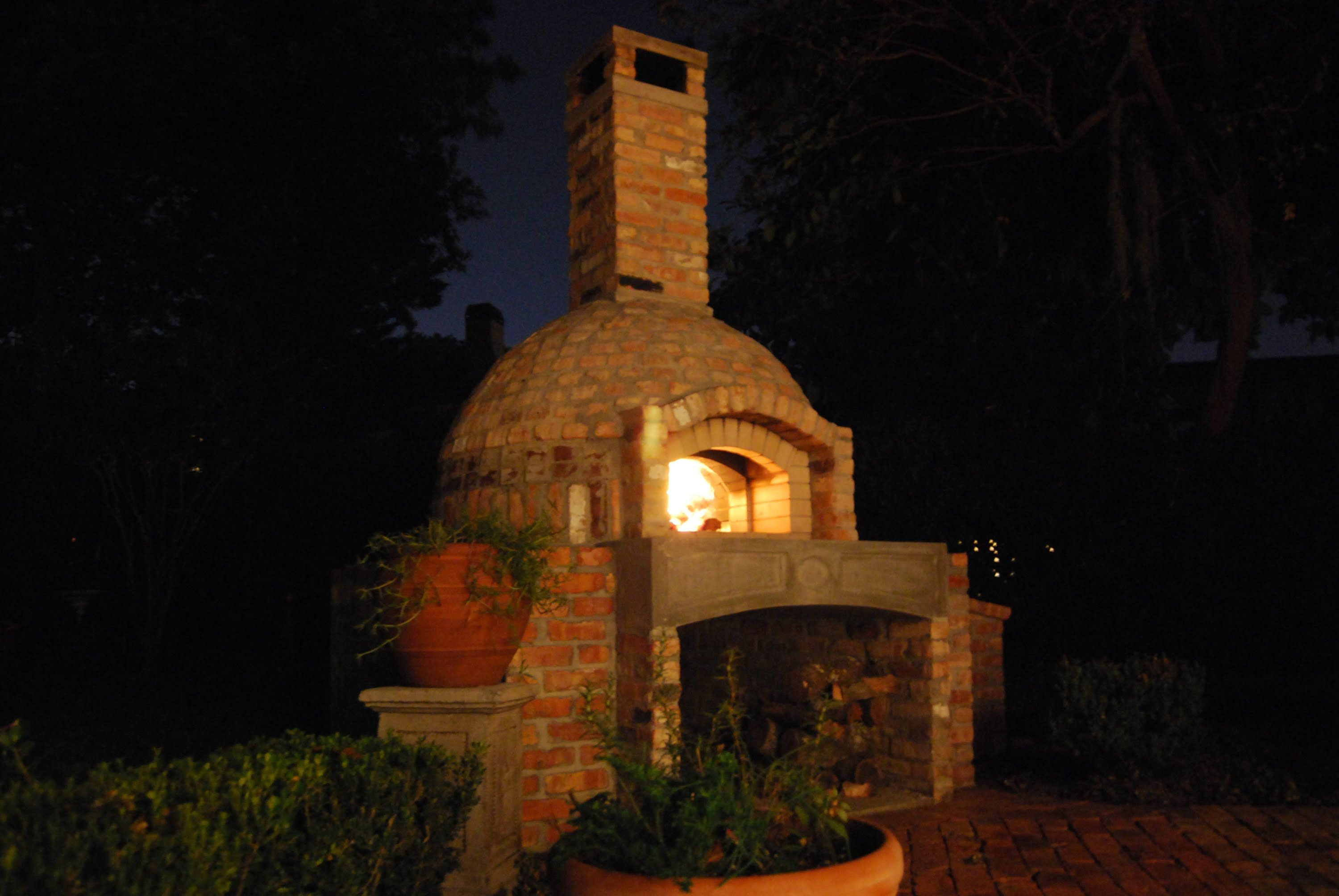 detailed description of how i built my combination wood fired pizza