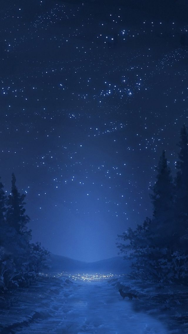 Night sky #iPhone #5s #Wallpaper   Merry Christmas..   iPhone 5~SE Wallpapers   Pinterest
