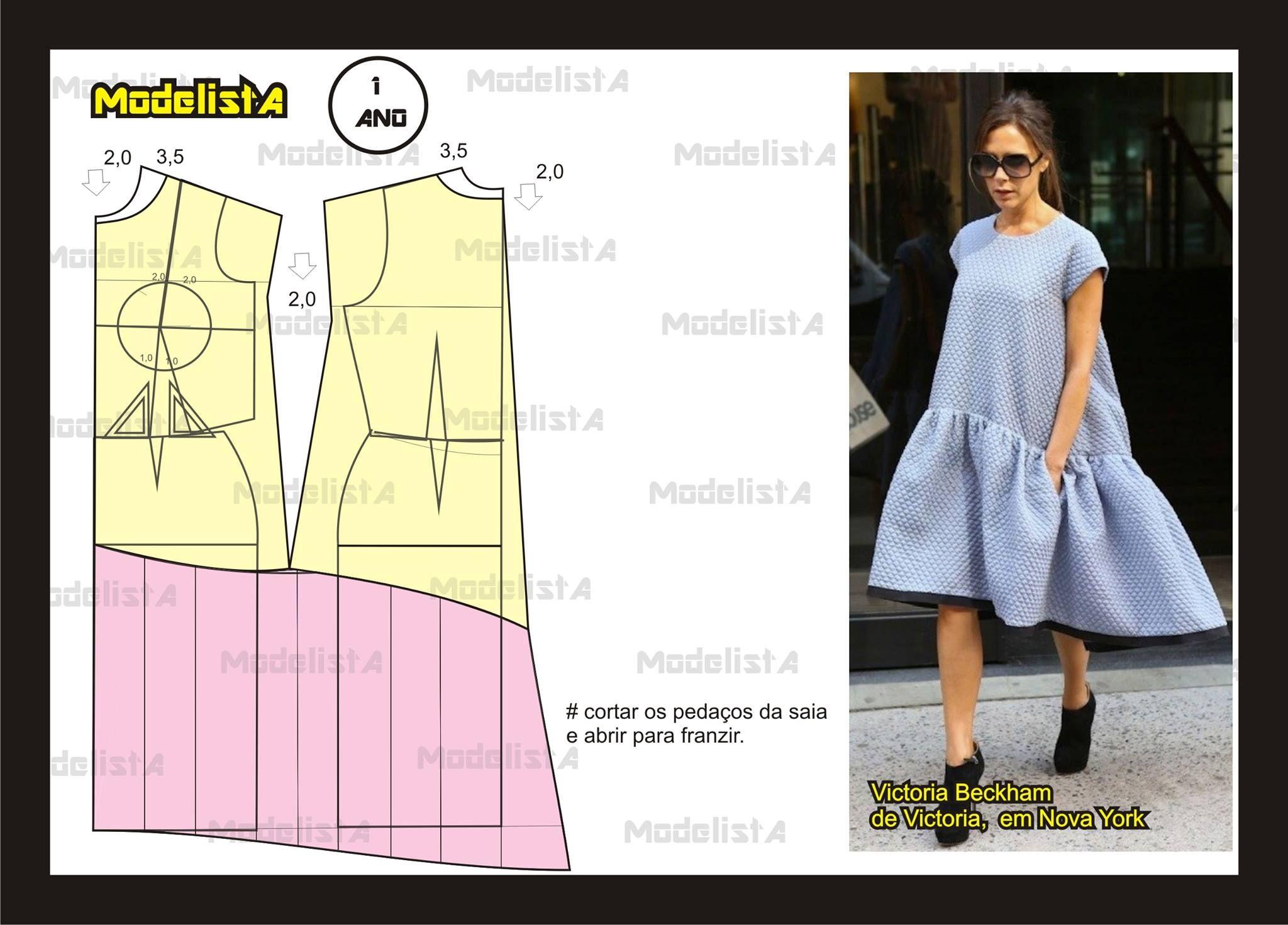 Godeli tunik | 패턴 | Pinterest | Patrones, Costura y Patronaje