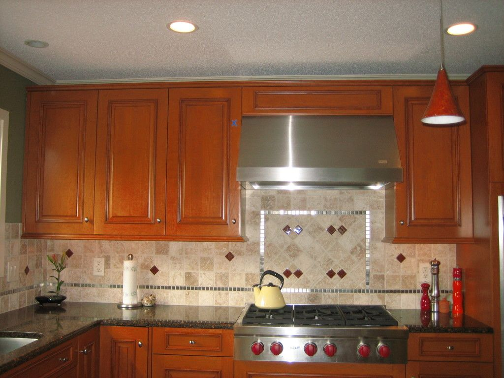 Backsplash tile tile silver backsplash accent Kitchen backsplash ideas