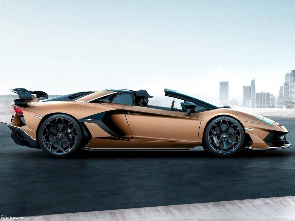 Lamborghini Aventador SVJ Roadster 2020 V12 à aspiration