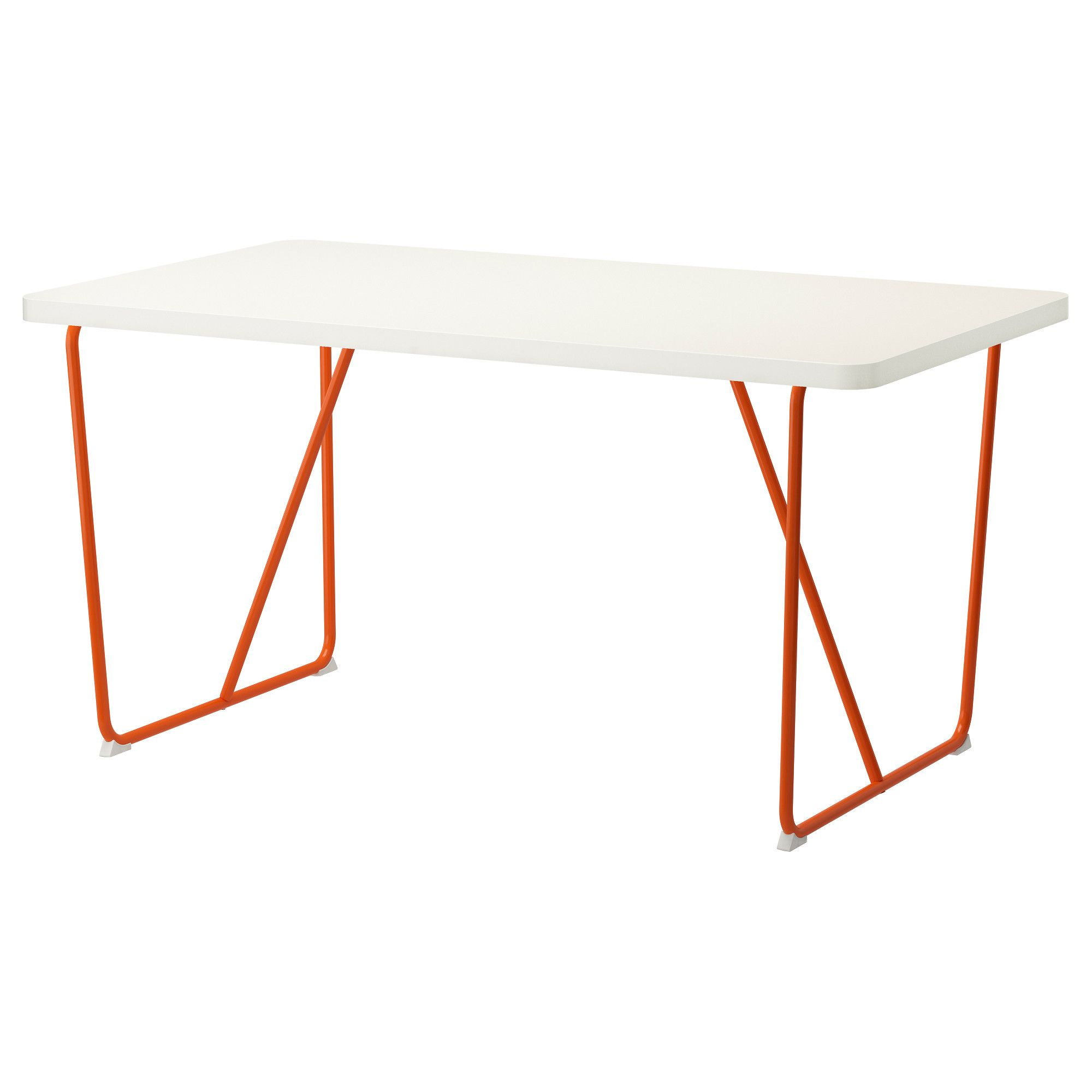 Ikea Küche Orange RydebÄck Table Orange White Backaryd White Orange Ikea