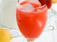 Limonada de fresa... así como lo lees, limonada de fresa.