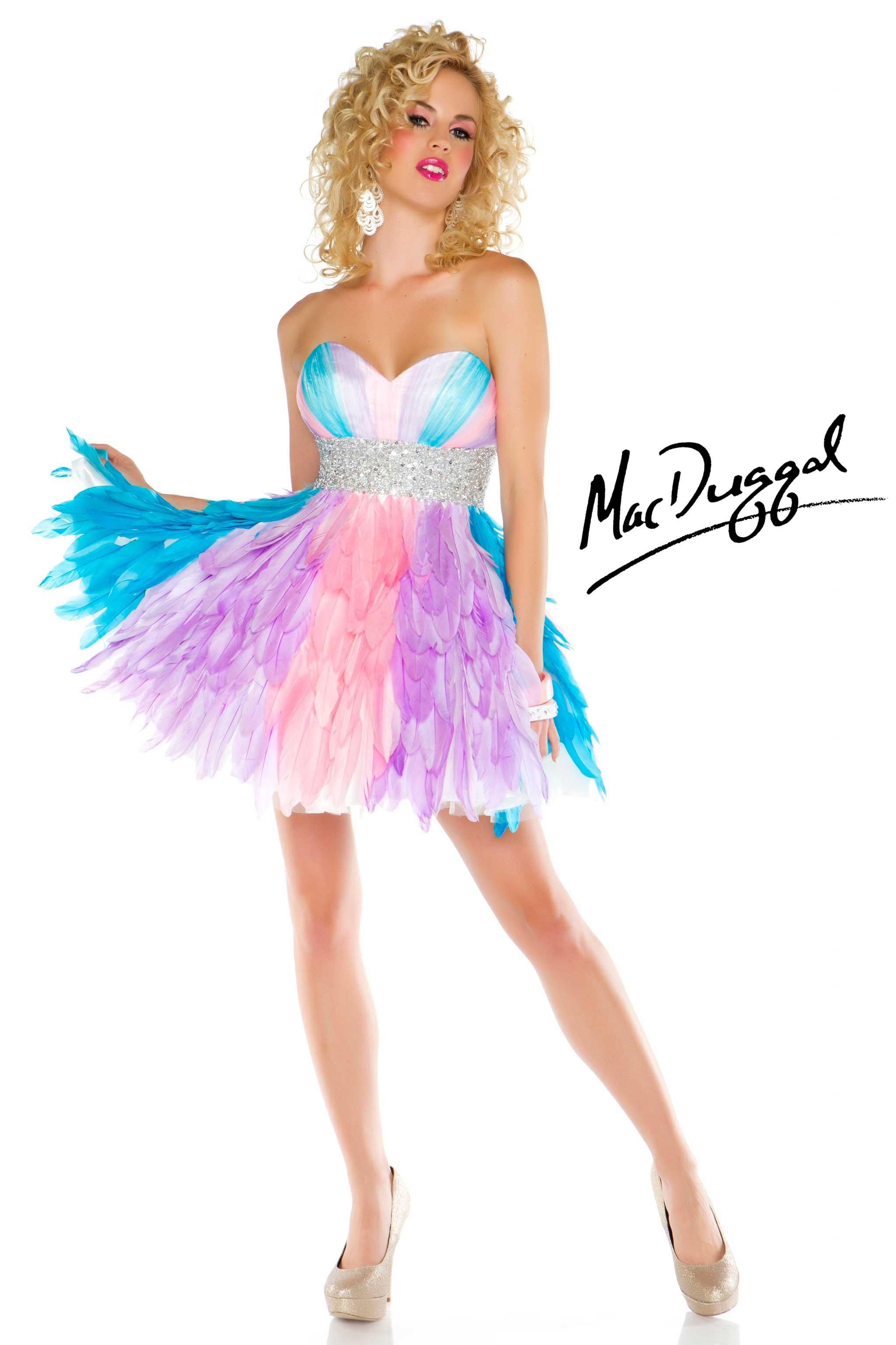 Short Multi Colored Homecoming Dress | Fashion 2 Die 4 | Pinterest ...