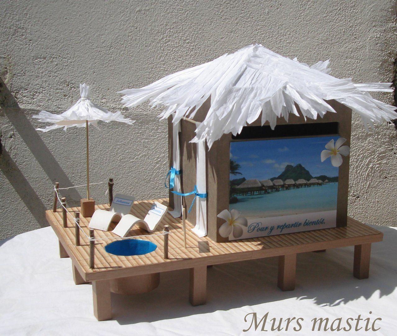 Urne bungalow pilotis avec petite piscine idees et for Piscine playmobil