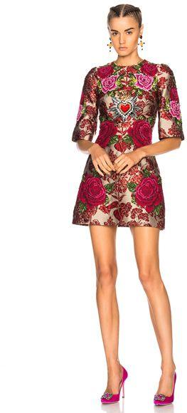 Fabric Luxury Gold Wire Fashion Polyester Fabric High-end Band Dresses Windbreaker Flower Lattice Jacquard Fabrics Clothing Cloth