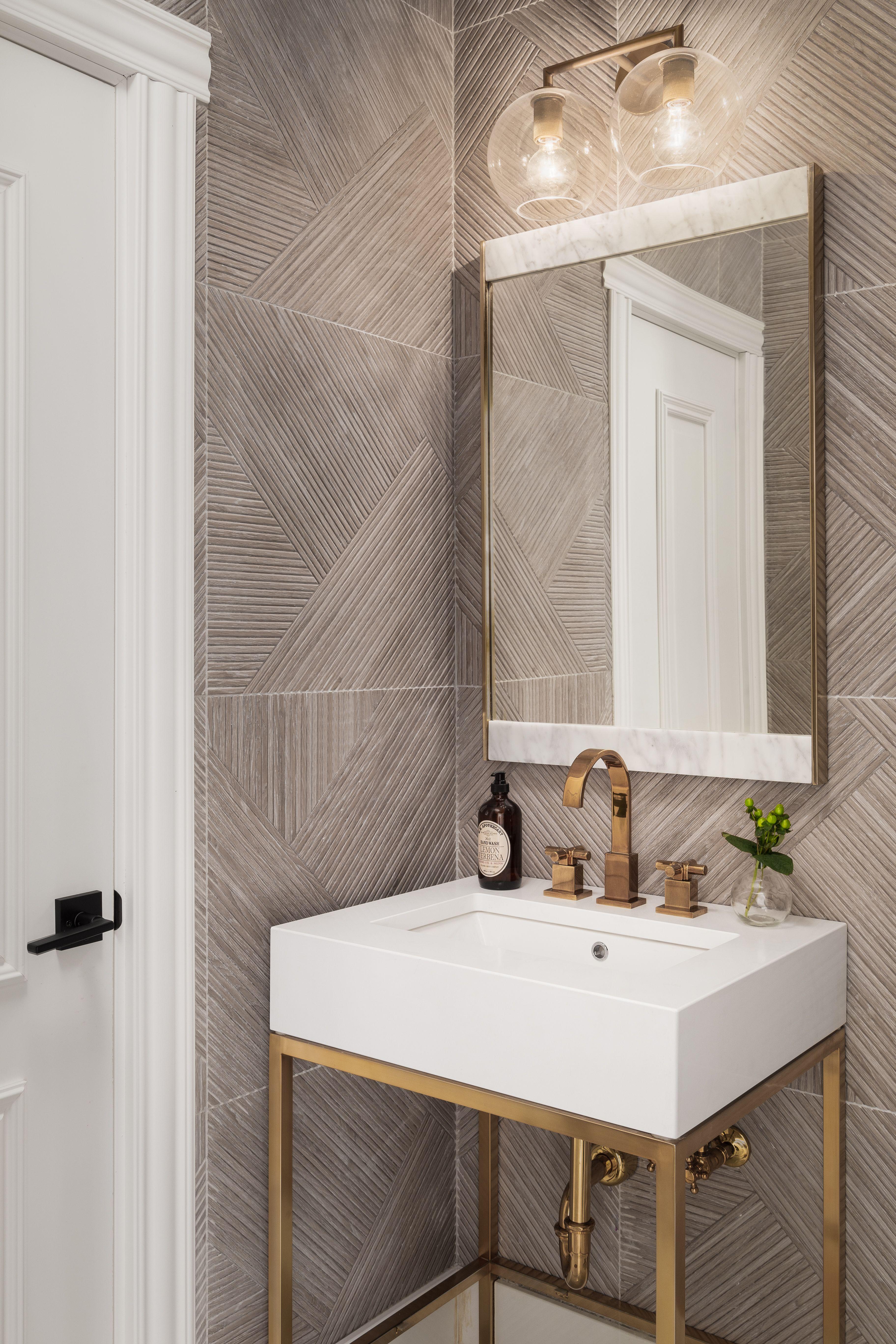 Modern Luxurious Powder Room Remodel Ideas Elegant Luxury