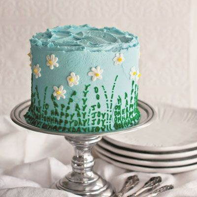 daisy cake step by step photo guide how to!