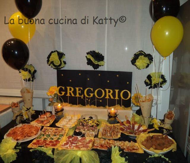 """Katty's cakes - Le torte di Katty : STAR Party 16th birthday """"Sweet table""""- Tavolo carino per un secidesimo compleanno STELLARE"""