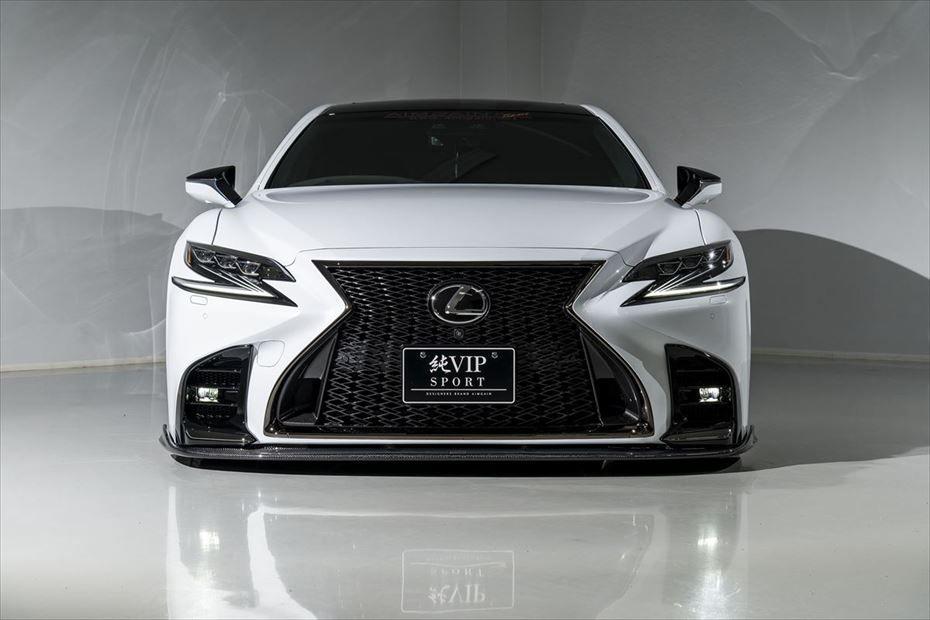 AIMGAIN VIP Sport Front Under Spoiler for Lexus LS500 F