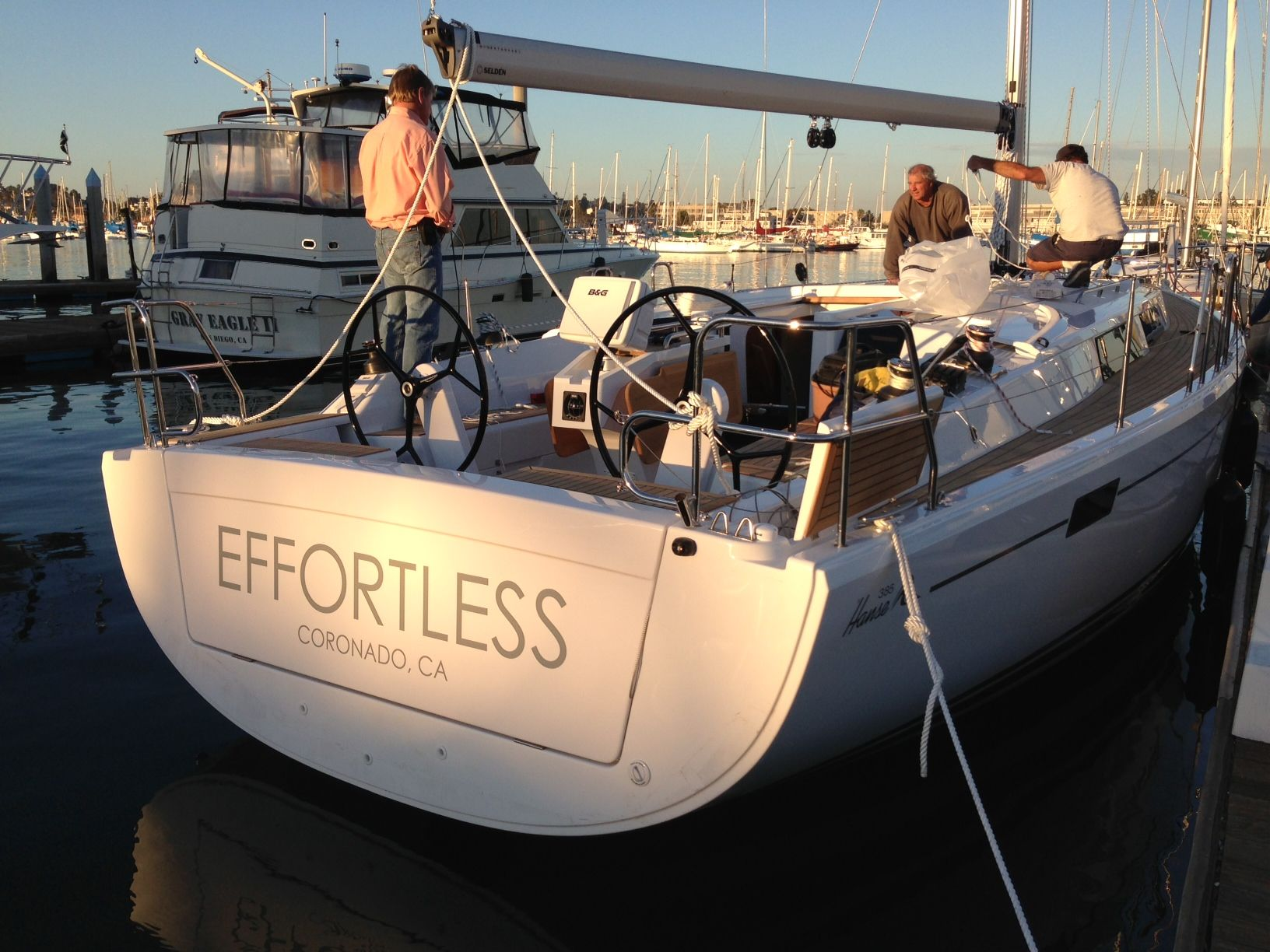 Perfect Name Boat A Hanse 385 From Jk3 Nautical Enterprises Www Jk3yachts