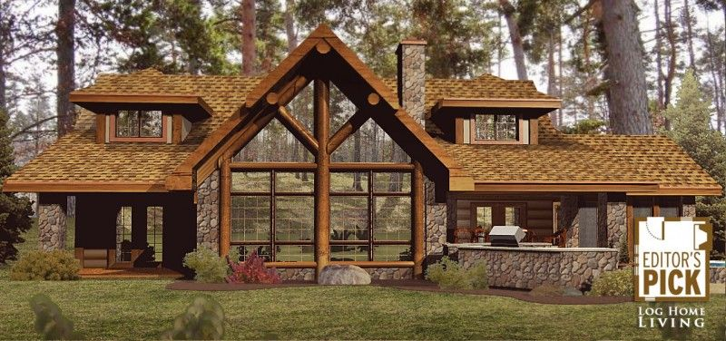 Timber frame ranch home plans house design plans for Ranch timber frame plans
