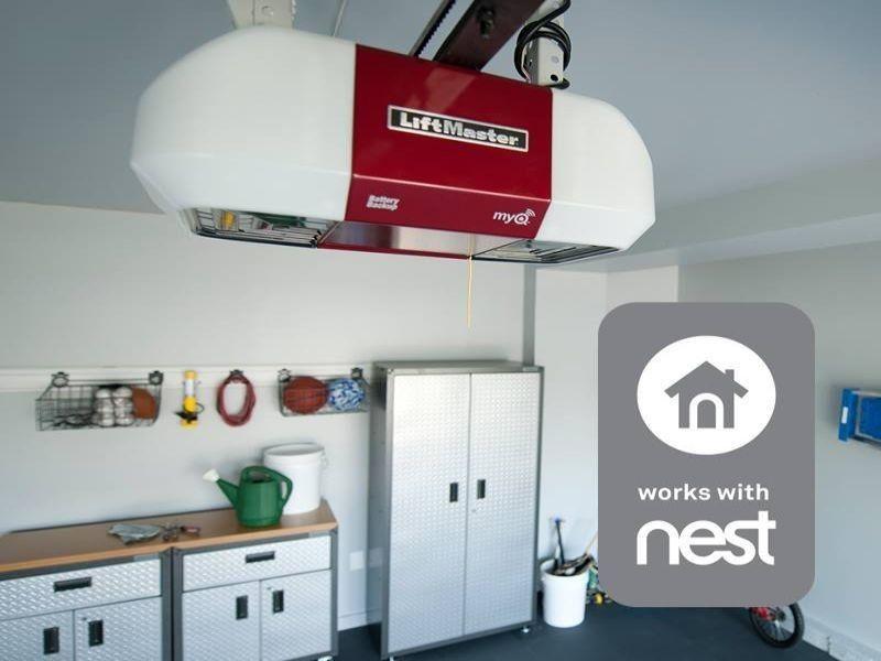 Liftmaster S Myq App Will Work With Nest To Help With Energy Use Garage Door Opener Liftmaster Garage Doors
