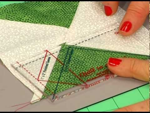Eleanor Burns makes Quatrefoil block Learn how to make a quilt ... : quilt in a day flying geese - Adamdwight.com