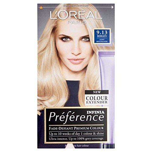 Loreal Paris Preference 913 Bergen Light Blonde You Can Find Out