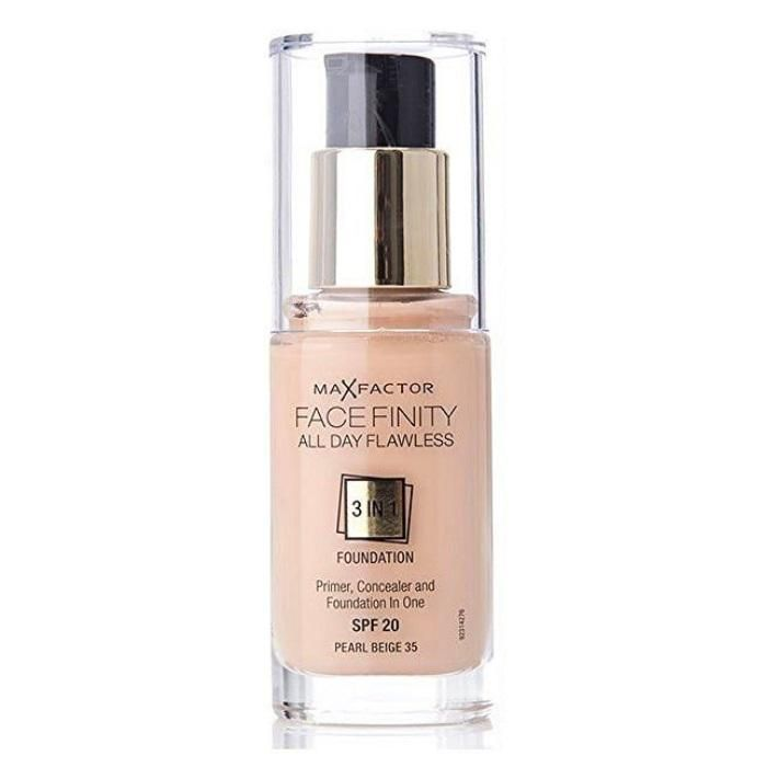 Facefinity All Day Flawless 3 In 1 Foundation SPF 20 - # 35 Pearl ...